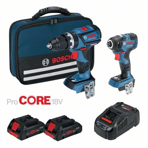 18V Brushless 2 Piece 4.0Ah ProCORE18V Combo Kit