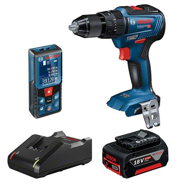Limited Release 2 Piece 18V Hammer Drill + Laser Measurer Kit
