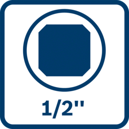 "1/2"" external square tool holder"