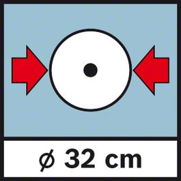 GWM 32 Diameter 32 cm Wheel diameter 32 cm