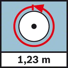 GWM 40 Yardage 1.23 m Circumference 1.23 m