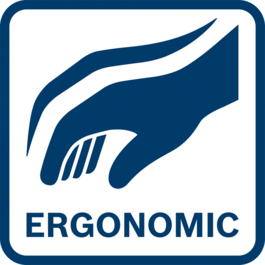 Ergonomic handling thanks to low weight and compact design