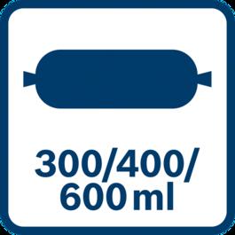 Capacity Sachet 300/400/600 ml