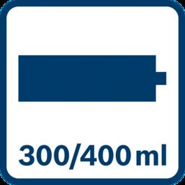 Capacity Cartridge 300/400 ml