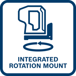 Integrated rotation mount